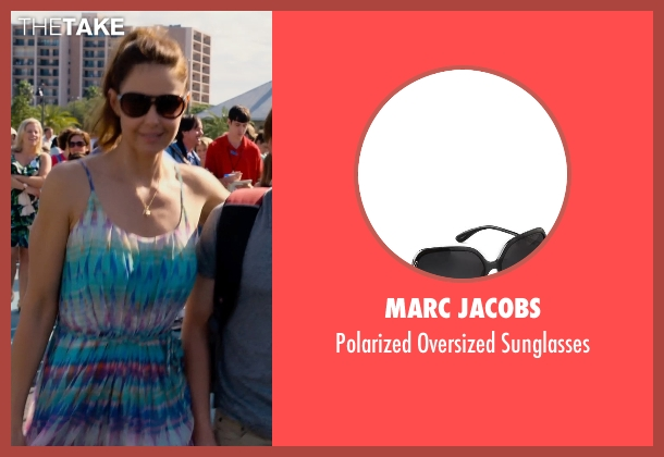 Marc Jacobs black sunglasses from Dolphin Tale 2 seen with Ashley Judd (Lorraine Nelson)