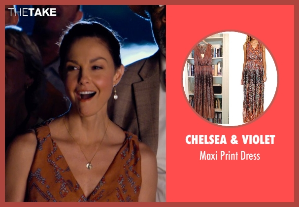 Chelsea & Violet brown dress from Dolphin Tale 2 seen with Ashley Judd (Lorraine Nelson)