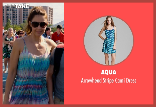 AQUA dress from Dolphin Tale 2 seen with Ashley Judd (Lorraine Nelson)