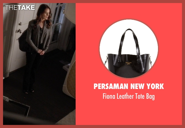 Persaman New York black bag from Pretty Little Liars seen with Ashley Marin  (Laura Leighton)