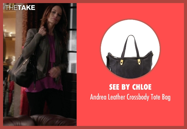 See by Chloe	 black bag from Pretty Little Liars seen with Ashley Marin  (Laura Leighton)