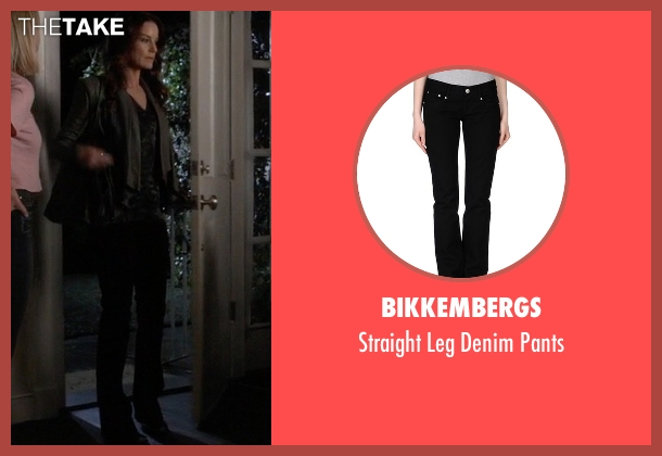 Bikkembergs black pants from Pretty Little Liars seen with Ashley Marin  (Laura Leighton)