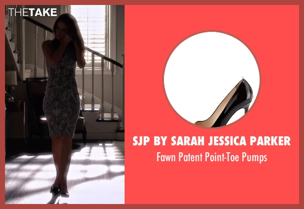 SJP by Sarah Jessica Parker black pumps from Pretty Little Liars seen with Ashley Marin  (Laura Leighton)