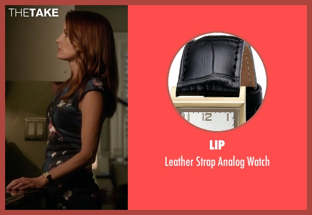 Lip black watch from Pretty Little Liars seen with Ashley Marin  (Laura Leighton)