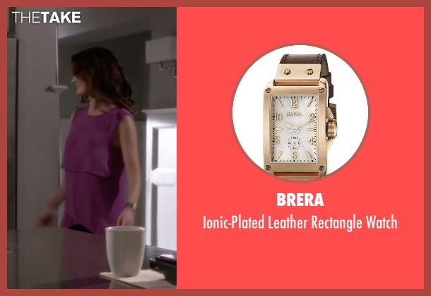 Brera brown watch from Pretty Little Liars seen with Ashley Marin  (Laura Leighton)