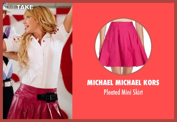 Michael Michael Kors pink skirt from High School Musical 3: Senior Year seen with Ashley Tisdale (Sharpay Evans)