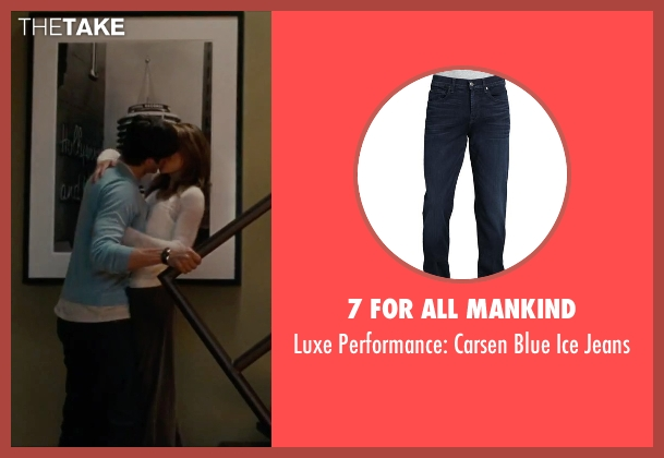 7 For All Mankind blue jeans from No Strings Attached seen with Ashton Kutcher (Adam Franklin)