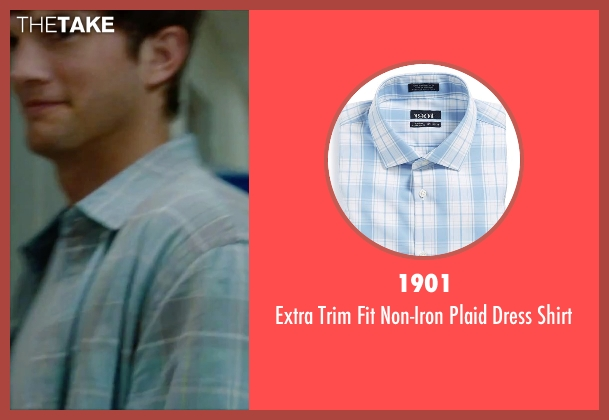 1901 blue shirt from No Strings Attached seen with Ashton Kutcher (Adam Franklin)