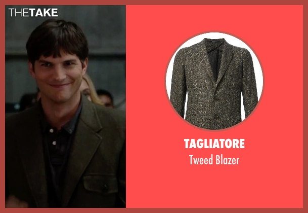 Tagliatore brown blazer from No Strings Attached seen with Ashton Kutcher (Adam Franklin)