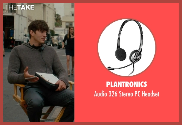 Plantronics headset from No Strings Attached seen with Ashton Kutcher (Adam Franklin)