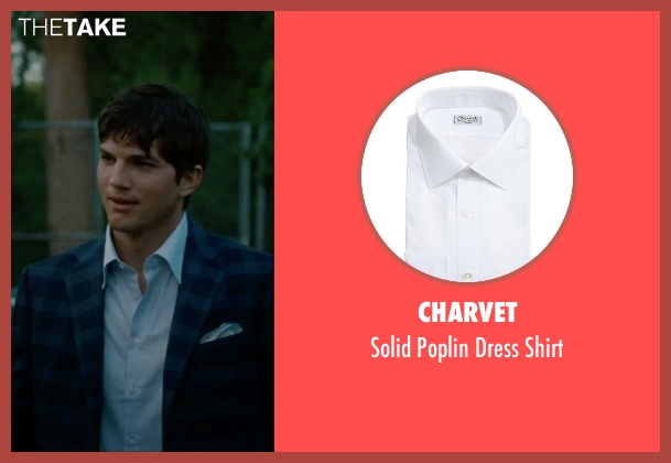 Charvet	 white shirt from No Strings Attached seen with Ashton Kutcher (Adam Franklin)
