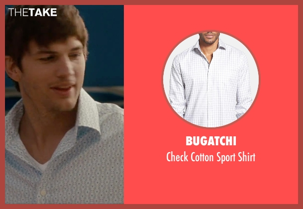 Bugatchi white shirt from No Strings Attached seen with Ashton Kutcher (Adam Franklin)