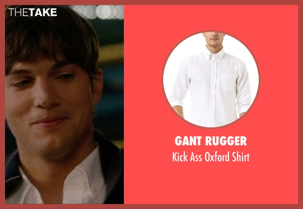 Gant Rugger white shirt from No Strings Attached seen with Ashton Kutcher (Adam Franklin)
