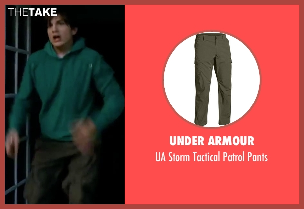 Under Armour green pants from Valentine's Day seen with Ashton Kutcher (Reed Bennett)