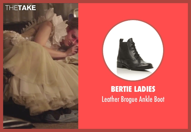 Bertie Ladies black boot from Jem and the Holograms seen with Aubrey Peeples (Jem)