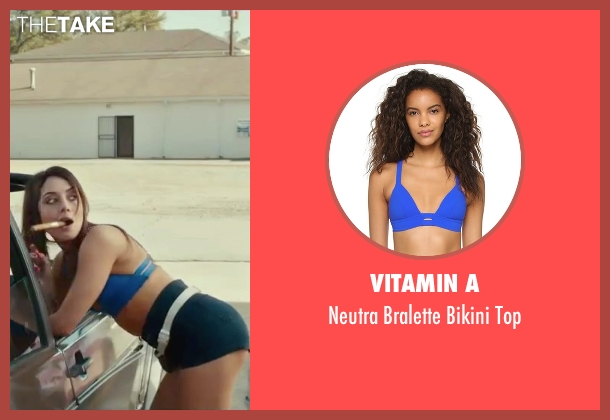 Vitamin A blue top from Dirty Grandpa seen with Aubrey Plaza (Lenore)