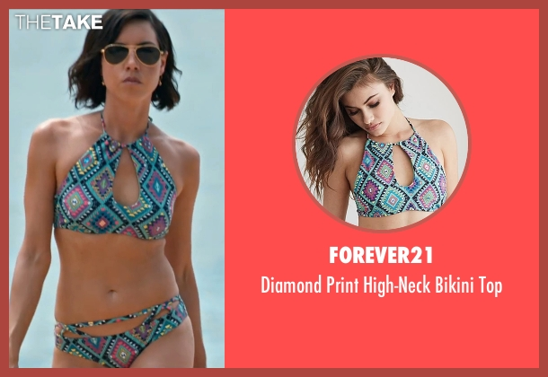 Forever21 top from Mike and Dave Need Wedding Dates seen with Aubrey Plaza (Tatiana)