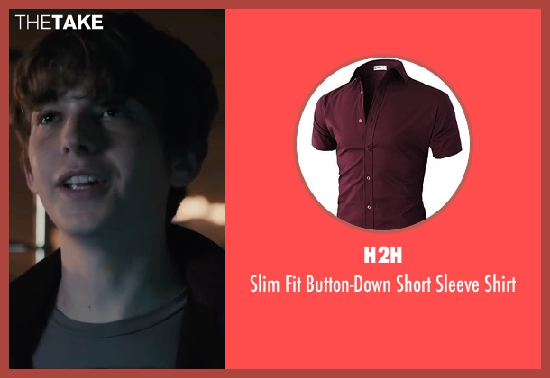 H2H red shirt from Paper Towns seen with Austin Abrams (Ben Starling)