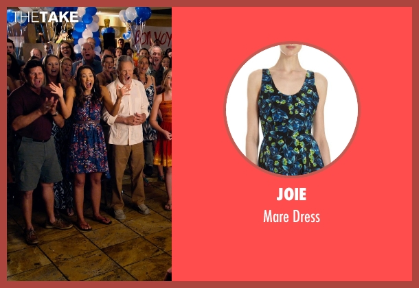 Joie blue dress from Dolphin Tale 2 seen with Austin Highsmith (Phoebe)