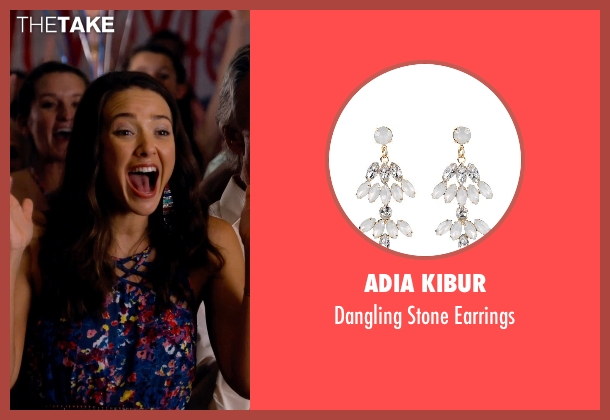 Adia Kibur earrings from Dolphin Tale 2 seen with Austin Highsmith (Phoebe)