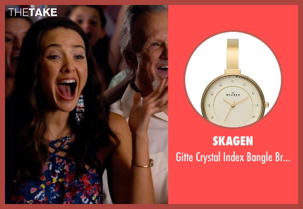 Skagen gold watch from Dolphin Tale 2 seen with Austin Highsmith (Phoebe)