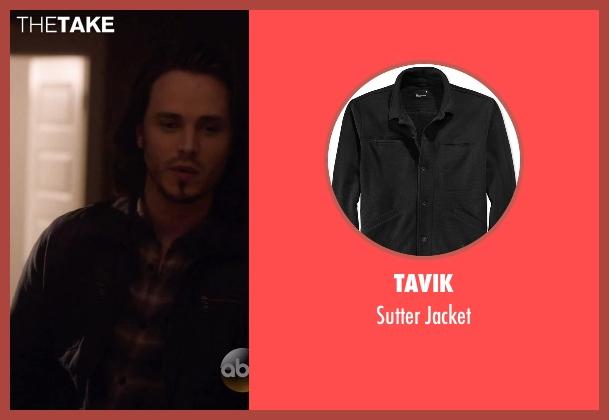 Tavik black jacket from Nashville seen with Avery Barkley  (Jonathan Jackson)