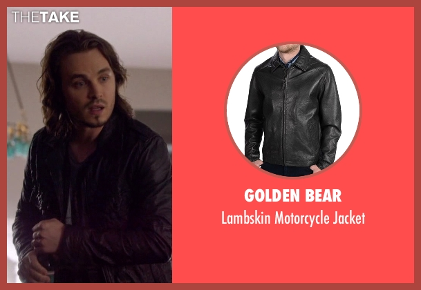 Golden Bear black jacket from Nashville seen with Avery Barkley  (Jonathan Jackson)