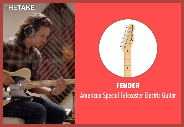 Fender guitar from Nashville seen with Avery Barkley  (Jonathan Jackson)