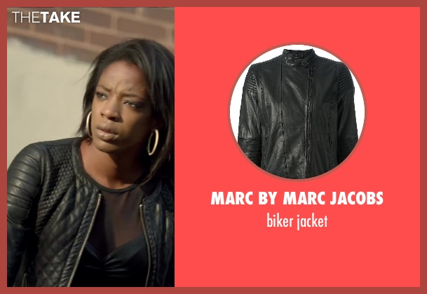 MARC BY MARC JACOBS black jacket from Brick Mansions seen with Ayisha Issa (Rayzah)
