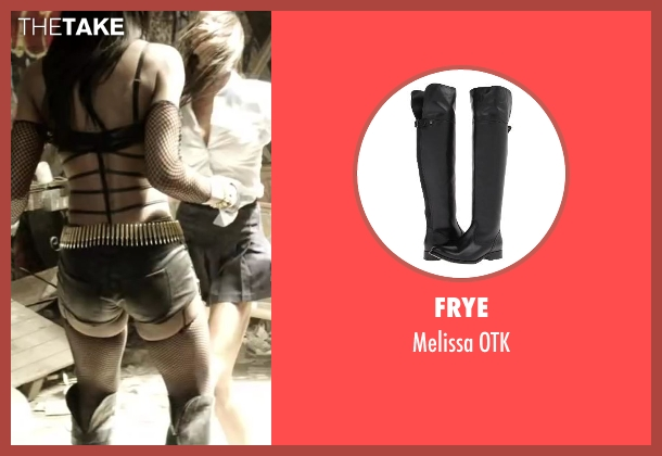 Frye black otk from Brick Mansions seen with Ayisha Issa (Rayzah)