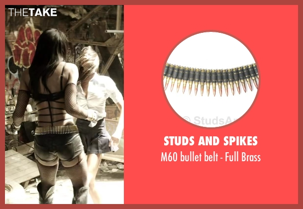 Studs and Spikes brass from Brick Mansions seen with Ayisha Issa (Rayzah)