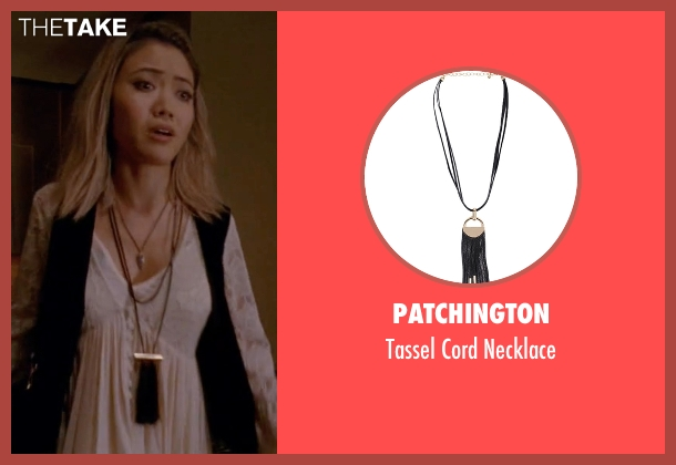 Patchington black necklace from American Horror Story seen with Babe (Jessica Lu)