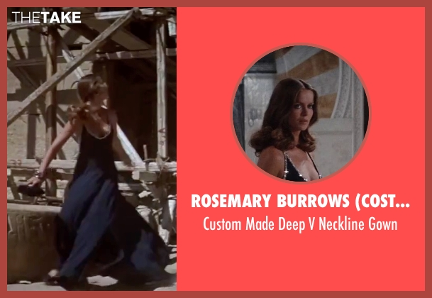 Rosemary Burrows (Costume Designer) blue gown from The Spy Who Loved Me seen with Barbara Bach (Major Anya Amasova / Agent XXX)