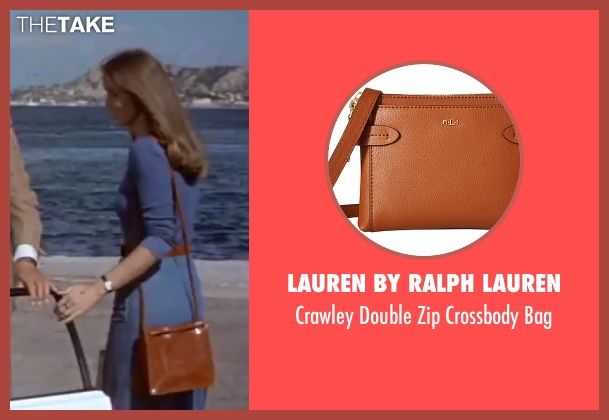Lauren By Ralph Lauren brown bag from The Spy Who Loved Me seen with Barbara Bach (Major Anya Amasova / Agent XXX)