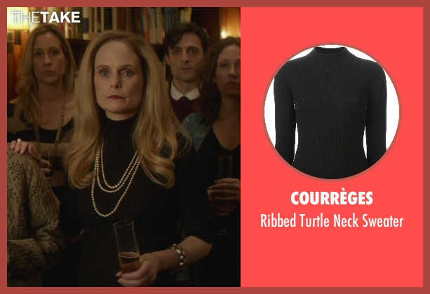 Courrèges black sweater from That Awkward Moment seen with Barbara Garrick (Chelsea's Mother)