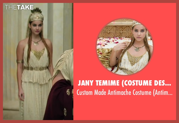 Jany Temime (Costume Designer) costume from Hercules seen with Barbara Palvin (Antimache)