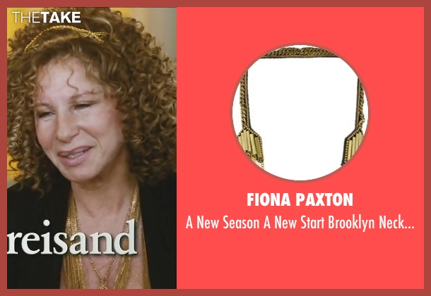 Fiona Paxton gold necklace from Little Fockers seen with Barbra Streisand (Roz Focker)
