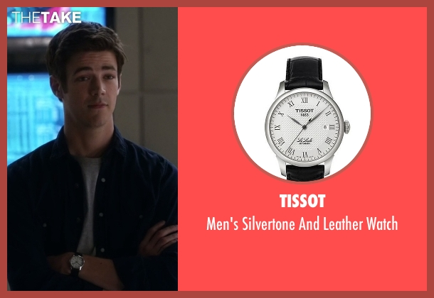 Tissot black watch from The Flash seen with Barry Allen / The Flash / Bartholomew Allen (Grant Gustin)