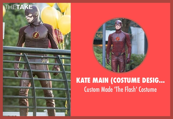 Kate Main (Costume Designer) costume from The Flash seen with Barry Allen / The Flash / Bartholomew Allen (Grant Gustin)
