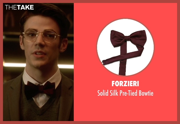 Forzieri red bowtie from The Flash seen with Barry Allen / The Flash / Bartholomew Allen (Grant Gustin)