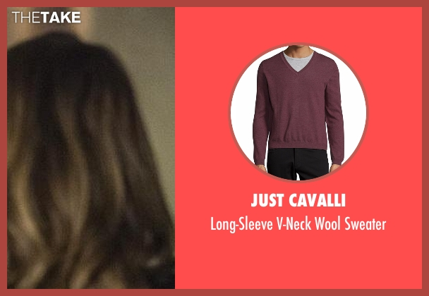 J. Crew red sweater from The Flash seen with Barry Allen / The Flash / Bartholomew Allen (Grant Gustin)