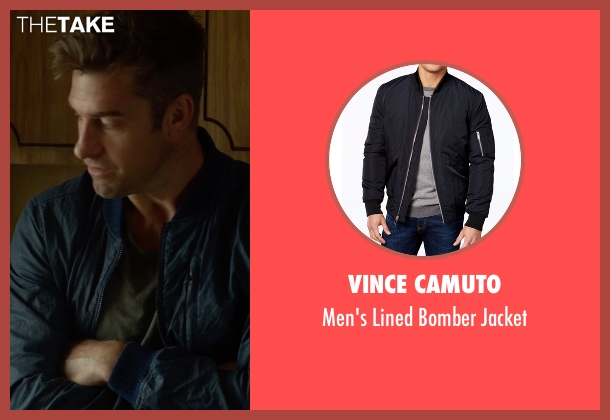 Vince Camuto blue jacket from Animal Kingdom seen with Barry 'Baz' Brown (Scott Speedman)