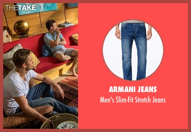 Armani Jeans blue jeans from Animal Kingdom seen with Barry 'Baz' Brown (Scott Speedman)