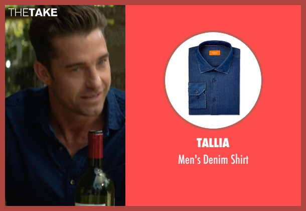 Tallia blue shirt from Animal Kingdom seen with Barry 'Baz' Brown (Scott Speedman)