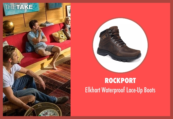 Rockport brown boots from Animal Kingdom seen with Barry 'Baz' Brown (Scott Speedman)