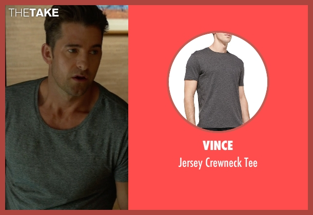 Vince gray tee from Animal Kingdom seen with Barry 'Baz' Brown (Scott Speedman)