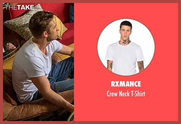 Rxmance white t-shirt from Animal Kingdom seen with Barry 'Baz' Brown (Scott Speedman)