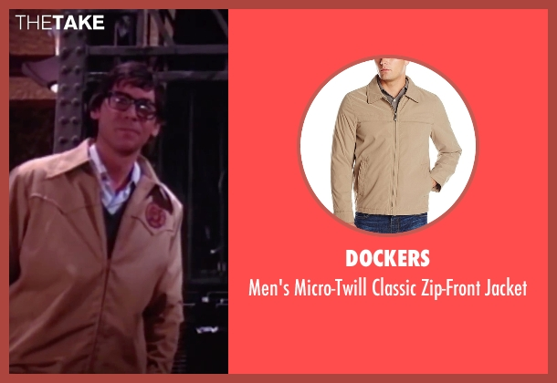 Dockers beige jacket from The Rocky Horror Picture Show seen with Barry Bostwick (Brad Majors)
