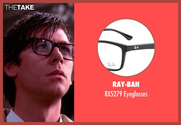 Ray-Ban black eyeglasses from The Rocky Horror Picture Show seen with Barry Bostwick (Brad Majors)