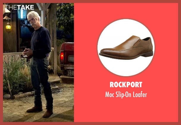 Rockport brown loafer from The Ranch seen with Beau Bennett (Sam Elliott)